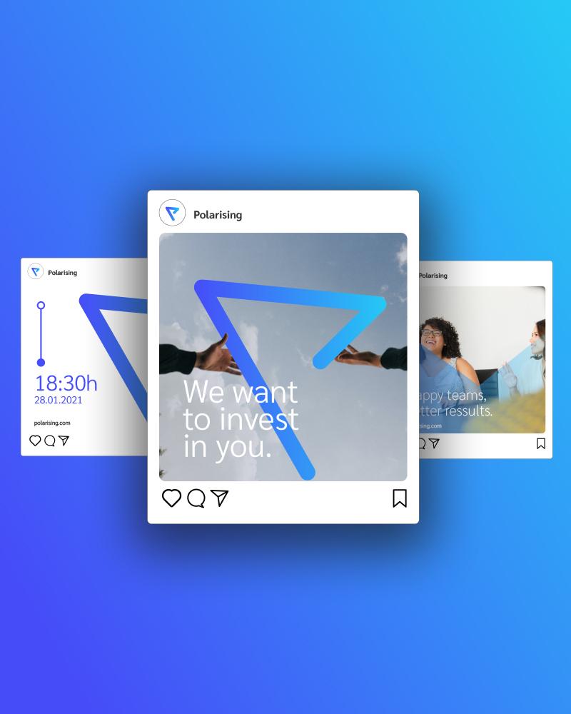 Polarising: Branding, Content e Web Design