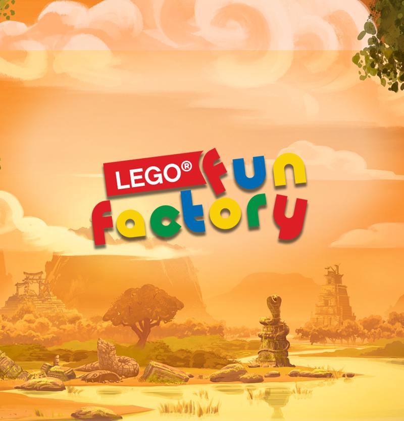 Artboards Lego Fun Factory