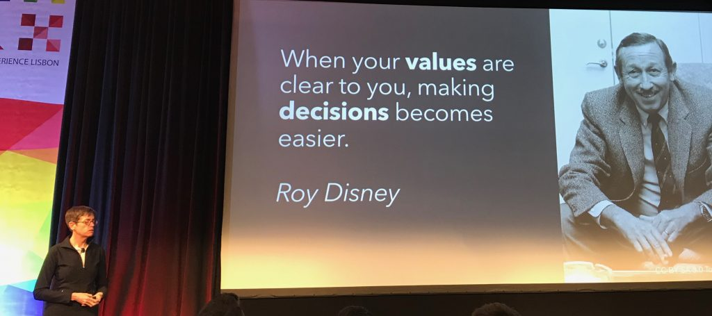 UXLx 2018: no final do dia, o importante são os Valores 1