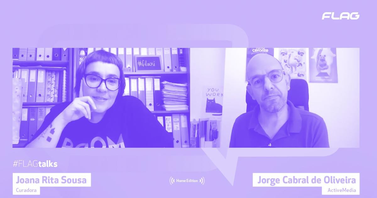 'ssoas na Casa, a Flagtalk do Jorge Oliveira
