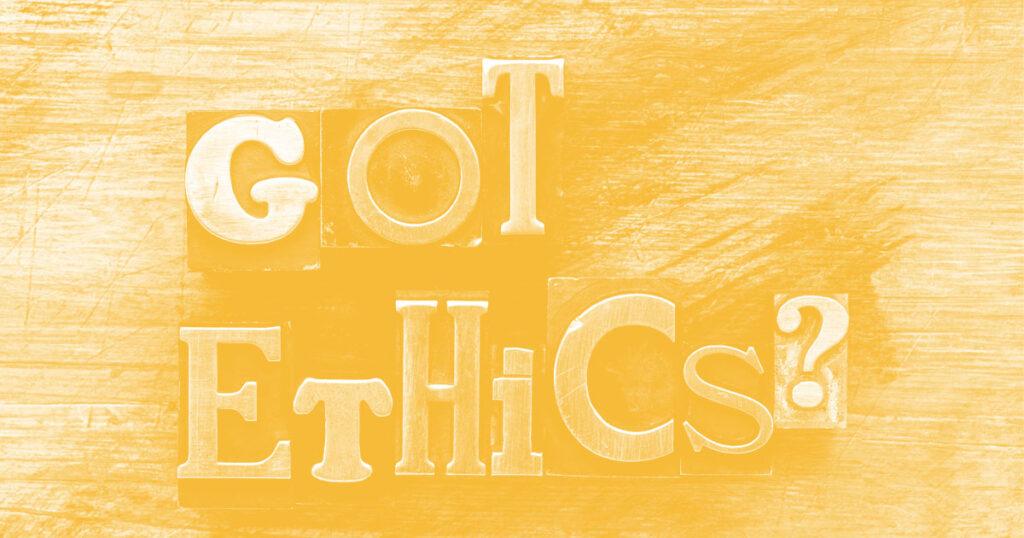 Ética no trabalho 1