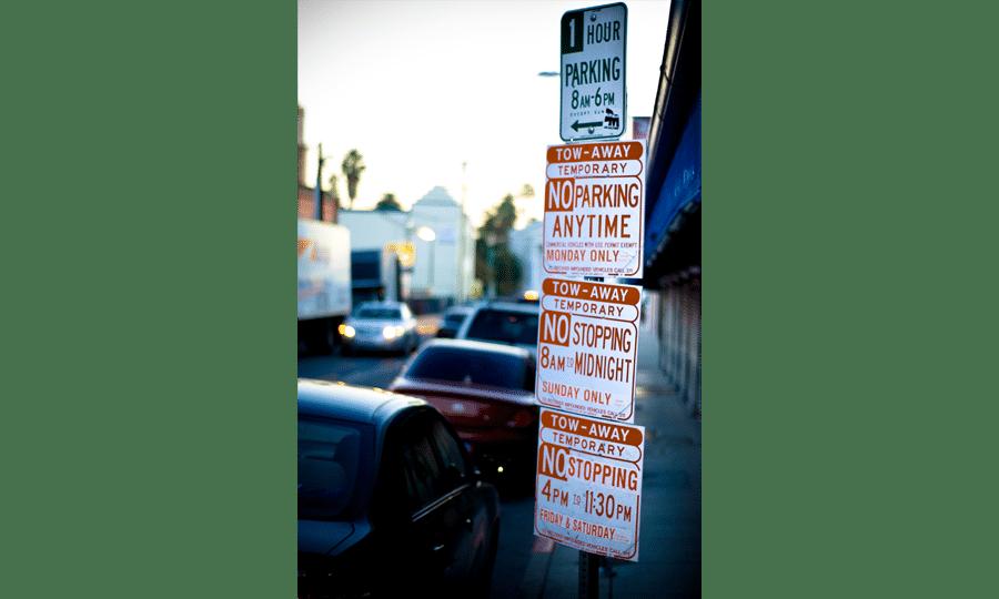 usabilidade sinais de estacionamento activemedia